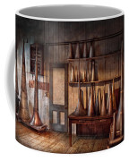 Fantasy - Wizard Hat Prototype Lab Coffee Mug by Mike Savad