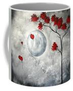Far Side Of The Moon By Madart Coffee Mug by Megan Duncanson