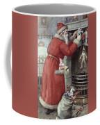 Father Christmas Coffee Mug by Karl Roger