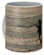 Fisherman Coffee Mug by Steve Karol