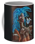 Flor Y Viento Coffee Mug by Oscar Ortiz