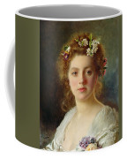Flora Coffee Mug by Gustave Jacquet