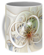 Floral Swirls Coffee Mug by Amanda Moore