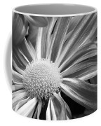 Flower Run Through It Black And White Coffee Mug by James BO  Insogna