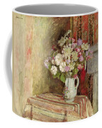 Flowers In A Vase Coffee Mug by Edouard Vuillard