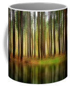 Forest Abstract Coffee Mug by Svetlana Sewell