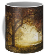 Forest Sunrise Coffee Mug by Albert Bierstadt