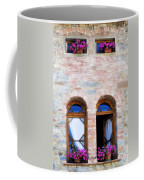 Four Windows Coffee Mug by Marilyn Hunt