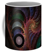 Freefall - Fractal Art Coffee Mug by NirvanaBlues