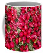 Fresh Red Radishes Coffee Mug by John Trax