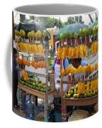 Fruit Stand Antigua  Guatemala Coffee Mug by Kurt Van Wagner