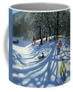 Fun In The Snow Coffee Mug by Andrew Macara