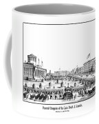 Funeral Obsequies Of President Lincoln Coffee Mug by War Is Hell Store