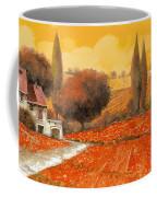 fuoco di Toscana Coffee Mug by Guido Borelli