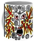 Fury Coffee Mug by Sarah Loft