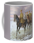 General John J Pershing  Coffee Mug by Jan van Chelminski
