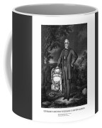 General Lee Visits The Grave Of Stonewall Jackson Coffee Mug by War Is Hell Store