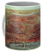 General View Of Philadelphia Coffee Mug by Currier and Ives