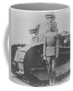 George S. Patton During World War One  Coffee Mug by War Is Hell Store