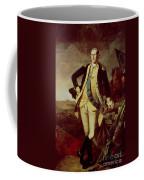 George Washington At Princeton Coffee Mug by Charles Willson Peale