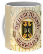 German Coat Of Arms Coffee Mug by Debbie DeWitt