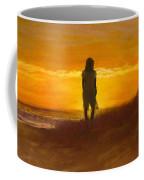 Girl On The Dunes Coffee Mug by Jack Skinner