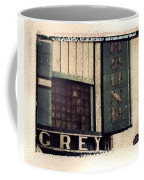Go Greyhound And Leave The Driving To Us Coffee Mug by Jane Linders