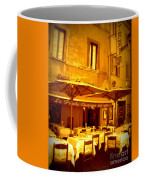 Golden Italian Cafe Coffee Mug by Carol Groenen