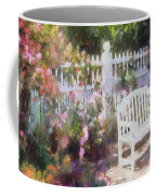 Grand Hotel Gardens Mackinac Island Michigan Coffee Mug by Betsy Foster Breen