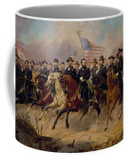 Grant And His Generals Coffee Mug by War Is Hell Store