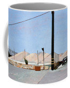 Gravel Piles Downtown La Coffee Mug by Peter Wilson