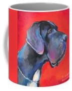Great Dane Painting Coffee Mug by Svetlana Novikova