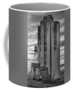 Great Western Sugar Mill Longmont Colorado Bw Coffee Mug by James BO  Insogna