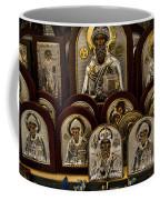 Greek Orthodox Church Icons Coffee Mug by David Smith