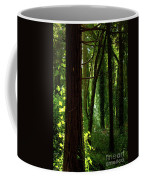 Green Forest Coffee Mug by Carlos Caetano