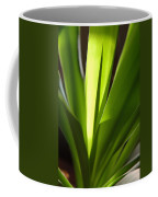 Green Patterns Coffee Mug by Jerry McElroy