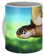 Green Sea Turtle Coffee Mug by Marilyn Hunt