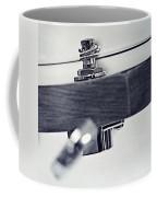 guitar V Coffee Mug by Priska Wettstein