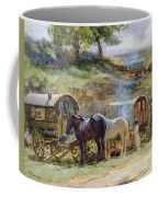 Gypsy Encampment Coffee Mug by John Atkinson