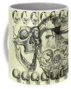 Halloween In Grunge Style Coffee Mug by Michal Boubin