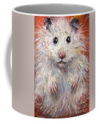 Hamster Painting  Coffee Mug by Svetlana Novikova