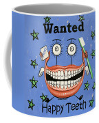 Happy Teeth Coffee Mug by Anthony Falbo
