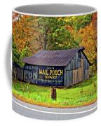 Have A Chaw Painted Coffee Mug by Steve Harrington