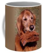 Here To Serve Coffee Mug by Skip Willits