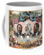 Heroes Of The Colored Race  Coffee Mug by War Is Hell Store