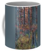 Heron Pond Twilight Coffee Mug by Steve Gadomski