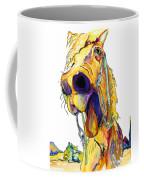 Horsing Around Coffee Mug by Pat Saunders-White