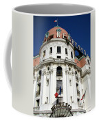 Hotel Negresco In Nice Coffee Mug by Carla Parris