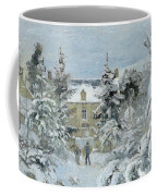 House At Montfoucault Coffee Mug by Camille Pissarro
