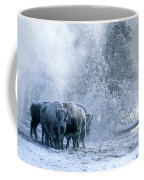 Huddled For Warmth Coffee Mug by Sandra Bronstein